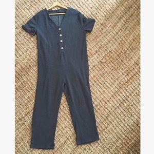 Blue Zara jumpsuit